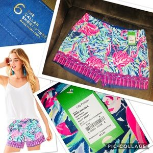 """Size 6 Lilly Pulitzer Callahan Short - 5"""" Inseam"""
